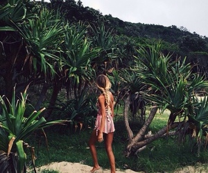beautiful, girl, and place image