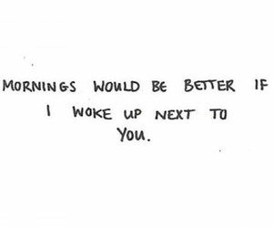 quote, love, and morning image