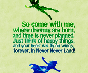 peter pan, quotes, and Dream image