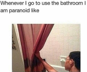funny, lol, and paranoid image