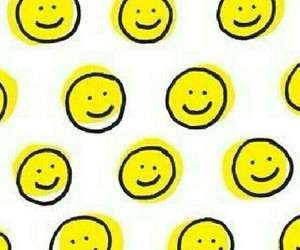 background, smiley face, and happy image