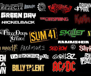 bands, green day, and nickelback image