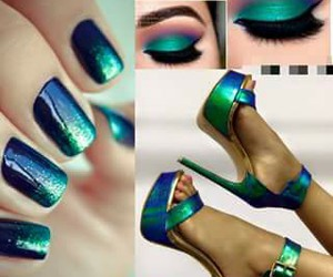 fashion, verde, and shoes image