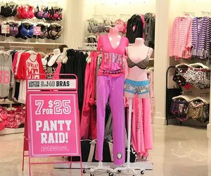 Victoria's Secret, pink, and clothes image