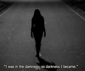 dark, florence and the machine, and girl image