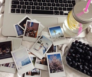 photography, polaroid, and memories image
