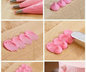 cake, diy, and pink image