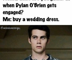 wedding and dylan o'brien image