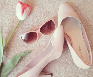 girly, pink, and powder image