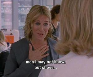 sex and the city, shoes, and quote image