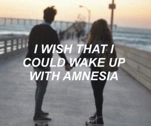 amnesia, 5sos, and quotes image