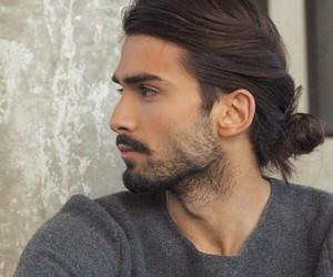 beard, cool, and brown image