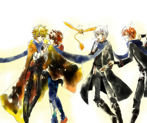 dgrayman, holding hands, and scarf image