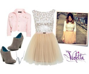 47 Images About Violetta Clothes On We Heart It See More About Violetta Outfits And Martina