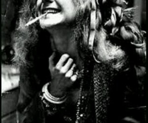 janis joplin, smile, and wild image