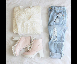casual, love, and outfit image