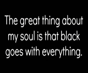 black, soul, and quotes image