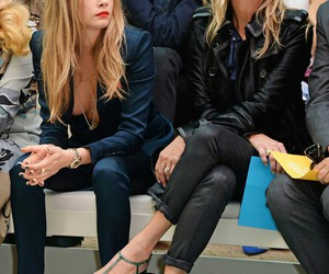 kate moss and models image