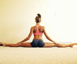 fit, plank, and fitness image