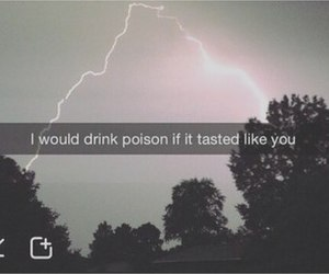 grunge, love, and poison image