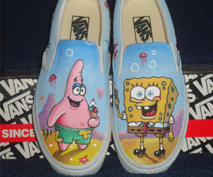 vans, patrick, and shoes image