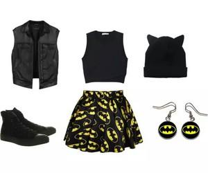 batman, shoes, and black image