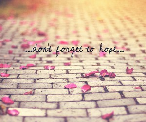 hope, quote, and wallpaper image