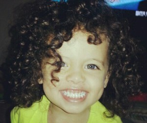 cute, baby, and curls image