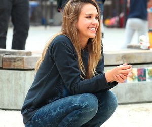 jessica alba and smile image