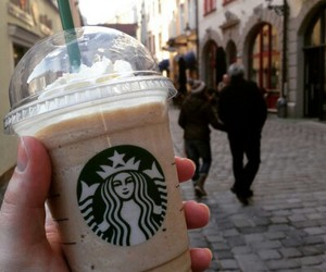 starbucks, coffee, and delicious image