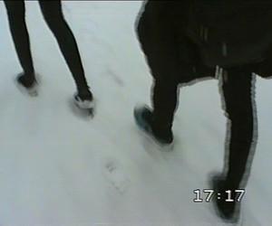 black, indie, and snow image