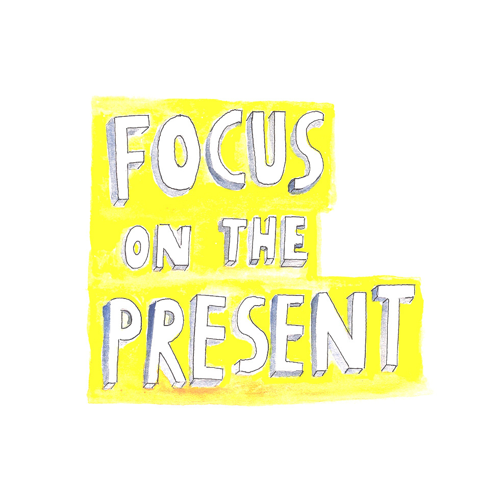 quote, focus, and present image