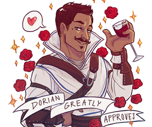 cassandra, dorian, and dragon age inquisition image