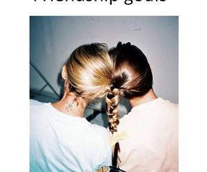 best friends, blonde, and friendship image