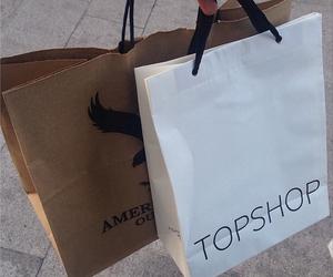 bag, grunge, and shopping image