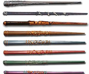 wand, harry potter, and magic image