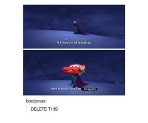 frozen, lol, and tumblr image
