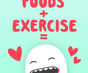 exercise, healthy, and fitness image