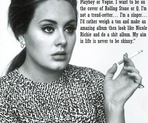 Adele, quotes, and singer image