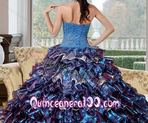 party dress, sweet 16 dress, and quinceanera dress image