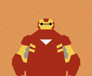iron man, cute, and big hero 6 image