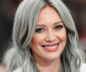 girl and Hilary Duff image