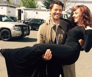 supernatural, misha collins, and ruth connell image