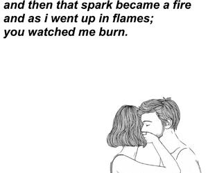 b&w, poem, and tumblr image