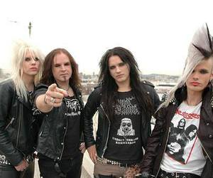 crashdiet, peter london, and eric young image