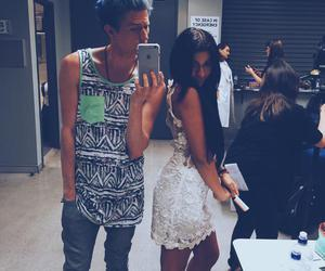 youtuber, andrea russett, and ricky dillon image