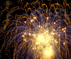 beautiful, fire works, and photography image