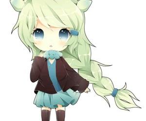 anime, chibi, and anime girl image