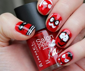 color, nails, and style image