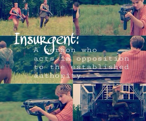 insurgent, book, and four image